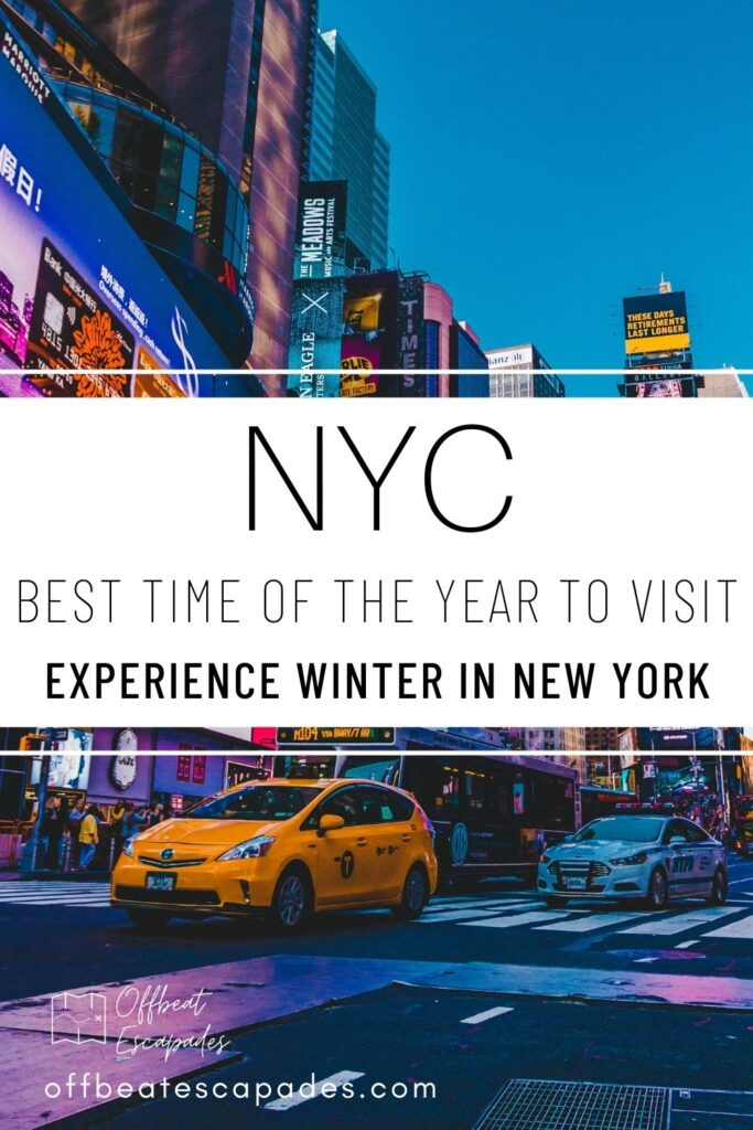 Pinterest - the best time of the year to visit new york - december in new york