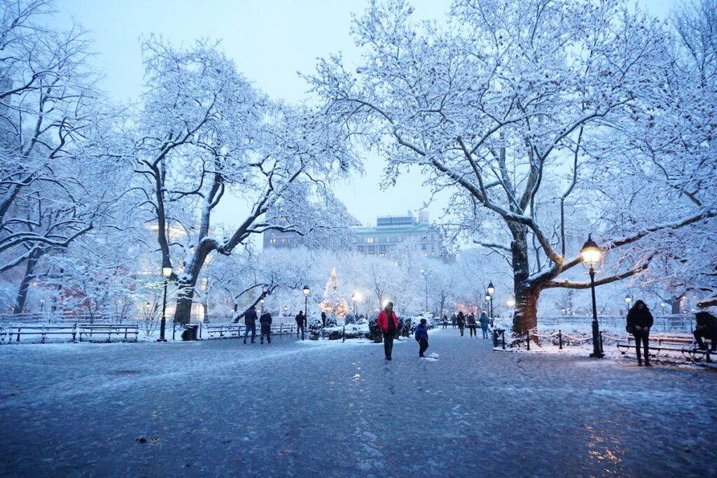 the best time of the year to visit new york - december in new york 4