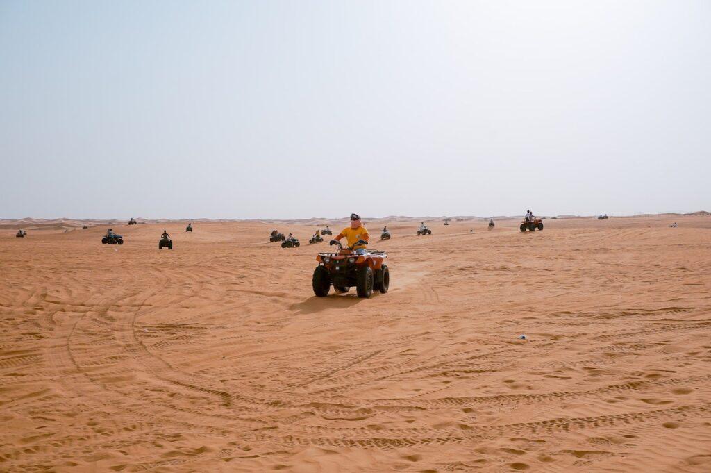 Offbeat Escapades - Dubai Desert Safaris