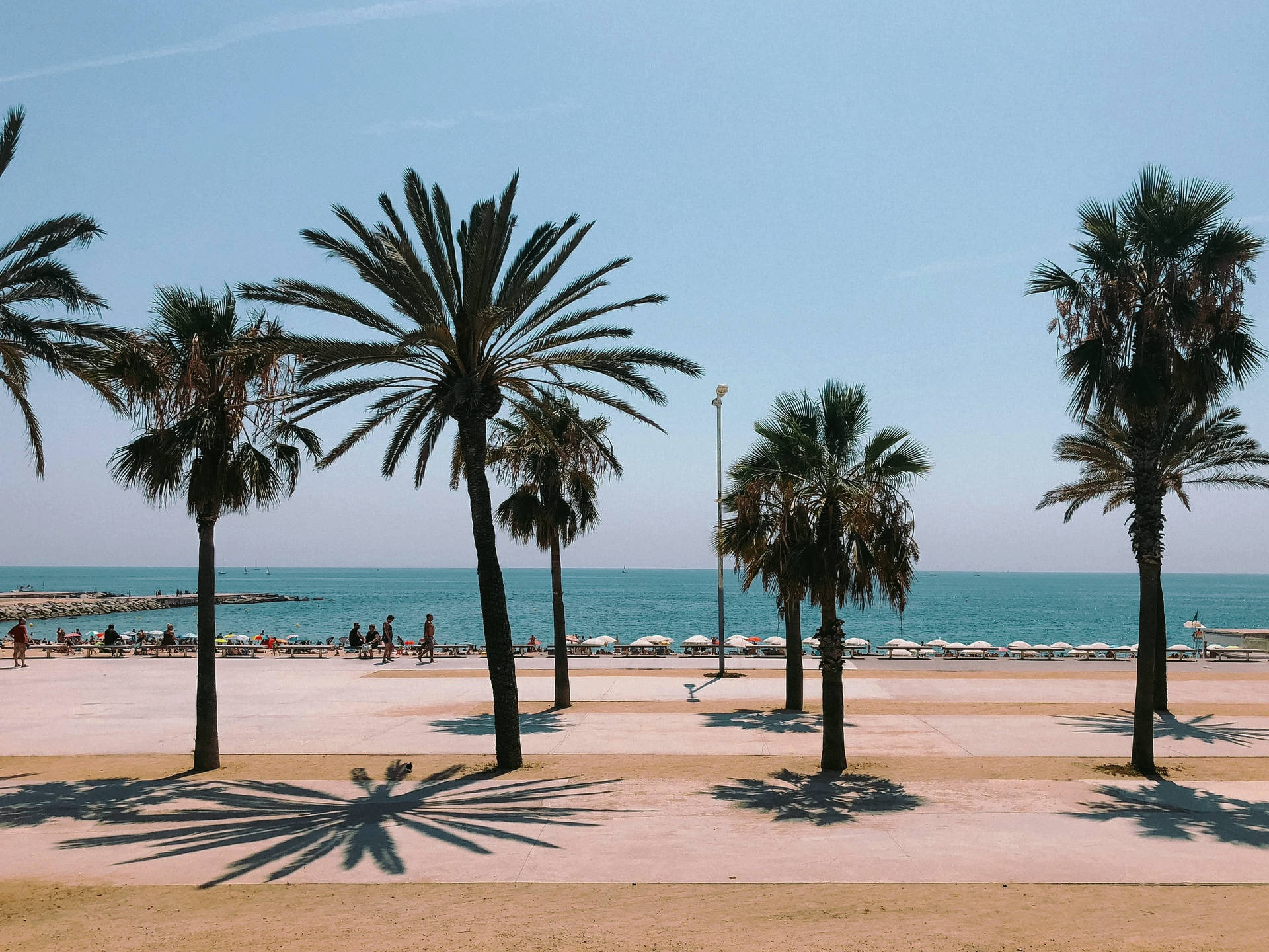 Barceloneta Beach Spain - La Barceloneta
