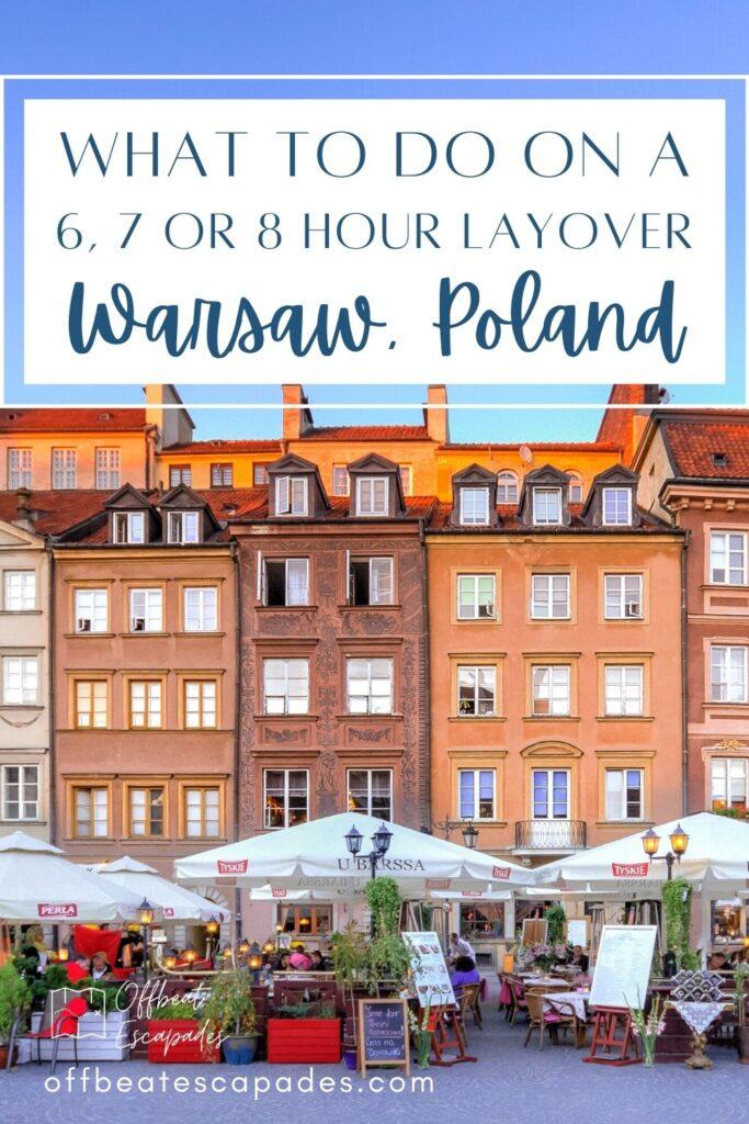 Layover in Warsaw Poland Pinterest 2