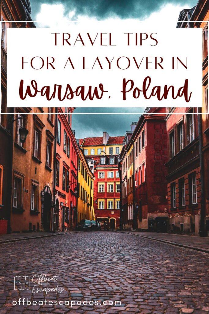Layover in Warsaw Poland Pinterest 3